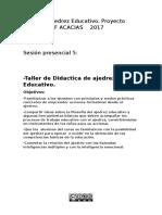 Didáctica Del Ajedrez Educativo . Madrid Chess Academy