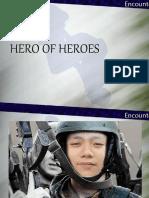 Jesus our hero