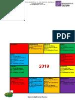 Calendário cultural SGP 2019