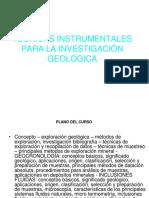 Tecnicas Instrumentales Para La Investigación Geologica