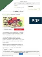 Dúvidas Sobre o IMI Em 2016
