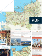 Tourist Map of Normandy