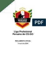 Reglamento de La Liga Profesional Peruana de CSGO
