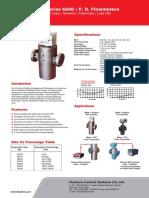 Tech Data Sheet 6600