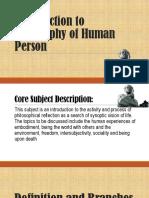 introductiontophilosophyofhumanperson-introductiontophilosophy-180817073745