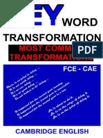 Key Word Transf - Most Common Transfor