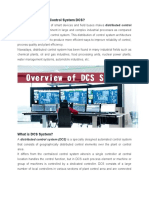 What is Distributed Control System DCS