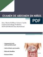 Examen de Abdomen en Ni Os (1)