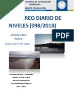 Reporte Hidrologico Senamhi 28 05 2018