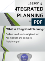 INTEGRATED PLANNING POWERPOINT