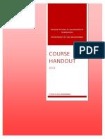 S3 Course Handout