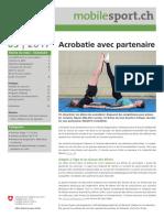 Acrobatie Partenaire III