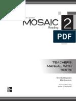 Mosaic 6Ed Level2 Reading TM