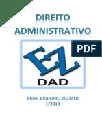 DIREITO ADMINISTRATIVO 2018 - PROF EVANDRO ZILLMER.pdf
