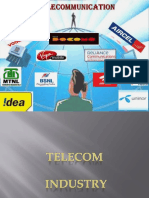 Business and Industries Telecom sector in India