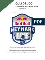 Reguli de Joc Red Bull Neymar Jrs Five 2019