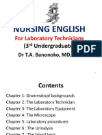 Nursing English g3 Laboratory