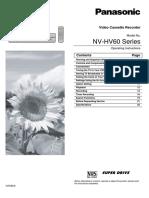 Panasonic NV-HV60 Series - F000984
