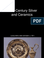 17th C Silver and Ceramics
