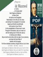 St Eugene Prayer