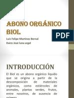 Abono Orgánico Biol Diapositivas
