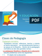 Factores de La Pedagogía