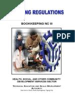 Bookkeeping Nc III
