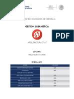 Analisis Articulos Gest.urb.