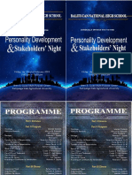 Program Stakeholder's Night