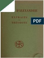 Extraits de Théodote