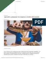 Aprende a preparar los mejores cócteles del mundo | EL PAÍS Semanal