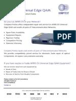 Arris D5 Universal Edge QAM