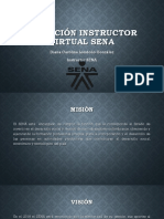 Inducción Instructor Virtual SENA