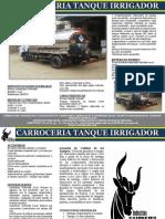 Ficha Tecnica Tanque Irrigador Industrias Voltrucks
