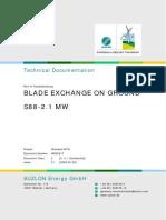 Blade Exchange on Ground WD 00217 01 00