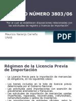 DECRETO NÚMERO 3803