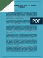 0.- La Reforma Procesal Civil y El Debido Proceso