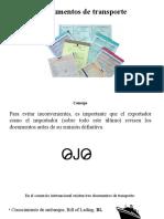 6. Documentos de Transporte