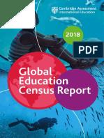 CAMBRIDGE UNIV Global Education Census Survey Report