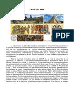 Cultura y Religion Maya
