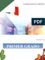 PlaneacionFebrero1erGrado-2018-2019