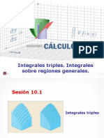 MA263 2017 1 S10.1 Integrales Triples. Integrales Sobre Regiones Generales