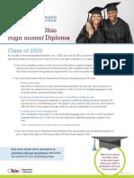 2020 graduation requirements