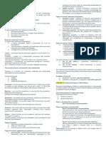 Data Analysis notes