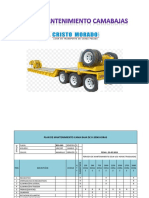 Plan de Mantenimiento Cama Baja b2g989