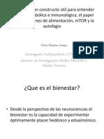 Bienestar Ciclos Metabolismo Inmunidad Autofagia Microbioma