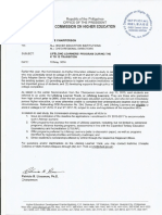 Memo on Lifelong Learners Program With Discussion Paper