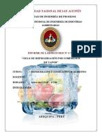 Ciclo de Refrigeración Por Compresión de Vapor