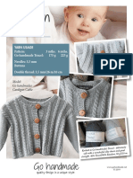 99662 Uk Cardigan Cable Booklet