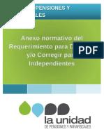 Anexo Normativo Del Rdoc Independientes 1